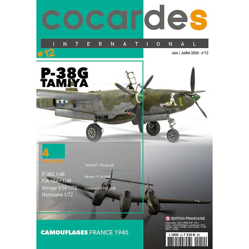 Cocardes INTERNATIONAL n°12 version française