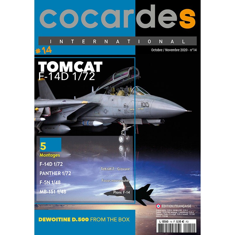 Magazine Cocardes INTERNATIONAL n°14