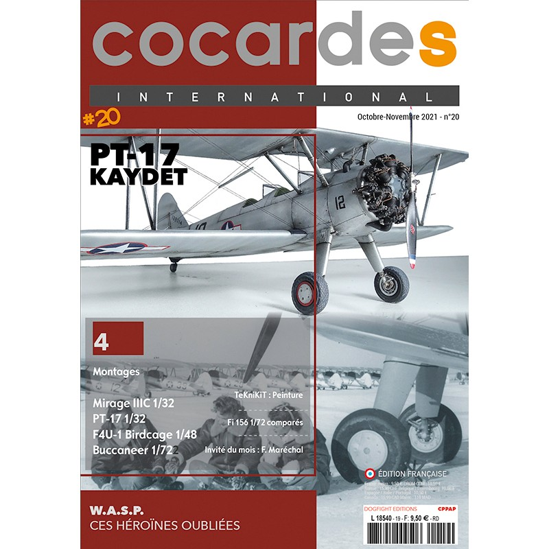 Cocardes International nO.20 French Paper Printed Magazine