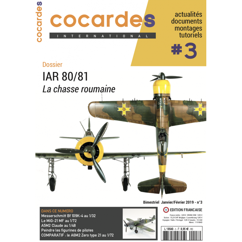 Magazine Cocardes International n°3