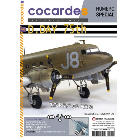 Cocardes INTERNATIONAL no.6 D.DAY special issue