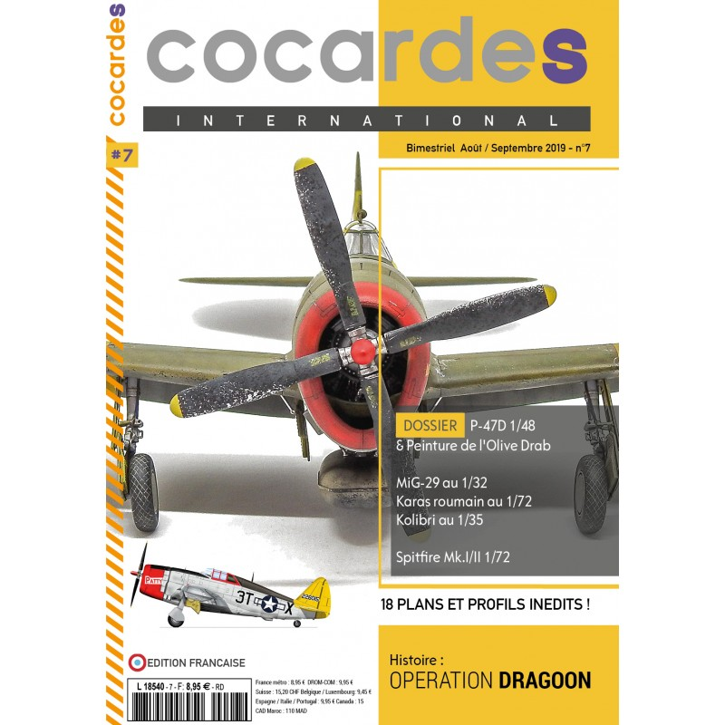 Couverture Cocardes International n°7