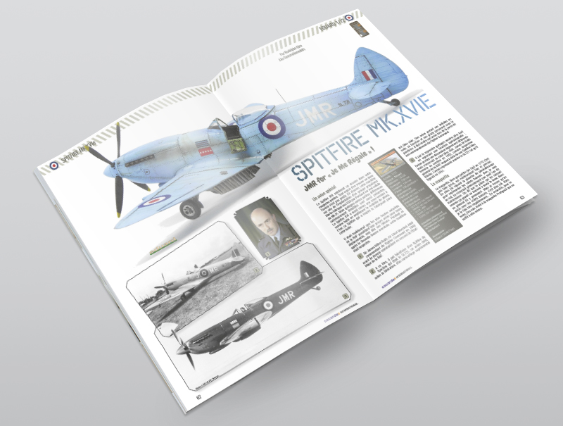 Cocardes International 2 Spitfire XVI